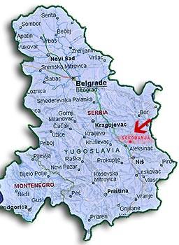 sokobanja srbija mapa SOKOTOURS   Sokobanja   O Sokobanji sokobanja srbija mapa